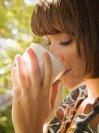 Чашка чая против простуды