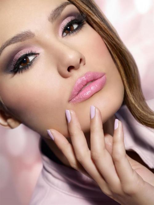 Как сделать красивый вечерний макияж ...